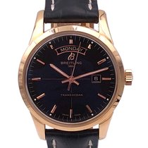 Breitling Transocean Day & Date Rose gold 43mmmm Black United States of America, Florida, Boca Raton