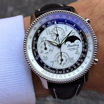 Breitling Montbrillant Olympus Zeljezo 42mm Bjel Arapski brojevi