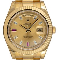 Rolex Day-Date II Yellow gold 41mm Champagne United Kingdom, London