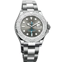 Rolex Yacht-Master 40 Platinum 40mm Grey No numerals United States of America, New York, New York