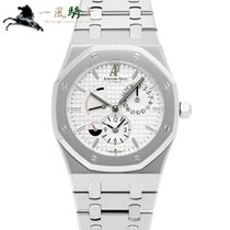 Audemars Piguet Royal Oak Dual Time Acero 39mm Blanco