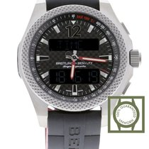 Breitling Bentley Supersports Titanium 46mm Black