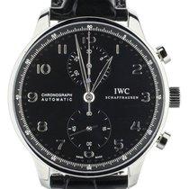 IWC Portuguese Chronograph nouveau Remontage automatique Chronographe Montre avec coffret d'origine et papiers d'origine IW371447