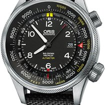 Oris Big Crown ProPilot Altimeter Steel 47mm Black Arabic numerals United States of America, California, Moorpark