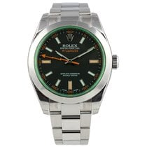 Rolex Milgauss Steel 40mm Black No numerals United States of America, New York, New York