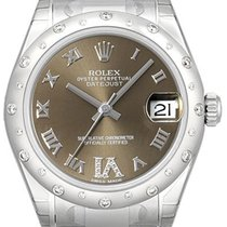 Rolex Lady-Datejust Staal 31mm Brons Romeins