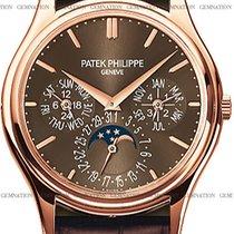 Patek Philippe Pозовое золото Автоподзавод Коричневый новые Perpetual Calendar