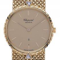 Chopard Classic 18kt Gelbgold Diamond Quarz Armband Milanese...