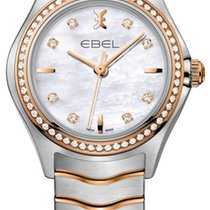 Ebel Wave Gold/Steel 30mm Mother of pearl United States of America, New York, Airmont