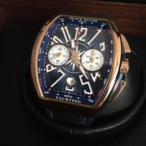 Franck Muller Vanguard Yachting Chronograph Rose Gold - new
