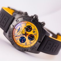 Breitling Chronomat 44 Blacksteel (Yellow)