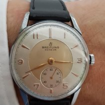 Breitling Vintage Hand Wound Stainless