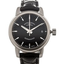 Mühle Glashütte Germanika IV 35 Date Black Dial