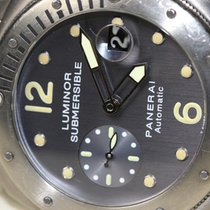Panerai Luminor Submersible Titan/Stahl PAM00170 Full-Set OP6566