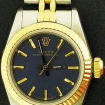 Rolex Oyster Perpetual 26 Gold/Steel 26mm Blue No numerals United States of America, New York, New York