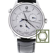 Jaeger-LeCoultre Master Geographic Staal 39mm Zilver