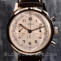 Gallet – Vintage 1940's  Clamshell Chronograph –  Cal.venus...