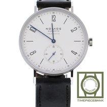 NOMOS Tangente Neomatik Steel 38.5mm White Arabic numerals