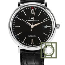 IWC Portofino Automatic 40 mm Steel Black Dial