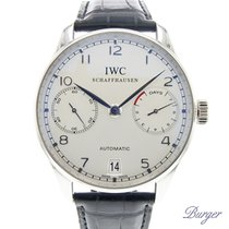 IWC Portuguese Automatic pre-owned 42.3mm Platinum