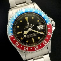 Rolex GMT-Master ref 1675 Gilt Chapter Ring Brown Dial