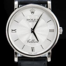 Rolex Cellini 18K White Gold Special Dial 51159