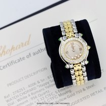 Chopard Happy Sport Gold/Steel 26mm White United States of America, New York, Airmont