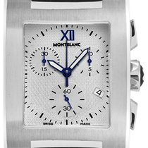 Montblanc Profile Steel 33mm Silver Roman numerals United States of America, California, Moorpark