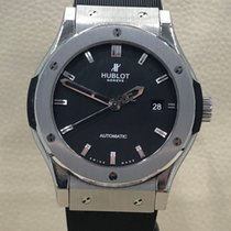Hublot Steel Automatic Black No numerals 42mm pre-owned Classic Fusion 45, 42, 38, 33 mm