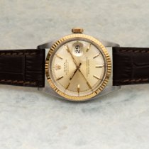 Rolex 1601 Gold/Steel 1965 Datejust 36mm pre-owned United States of America, Texas, Houston