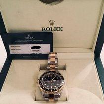 Rolex GMT-Master II Gold/Steel 40mm Black No numerals United Kingdom, London