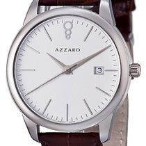 Azzaro Staal Quartz AZ2040.12AH.000 nieuw