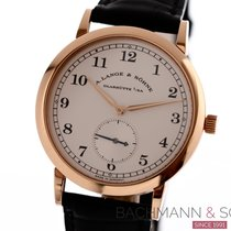A. Lange & Söhne Red gold Manual winding Silver Arabic numerals 36mm pre-owned 1815