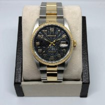 Rolex Datejust Gold/Steel 36mm Black United States of America, California, SAN DIEGO
