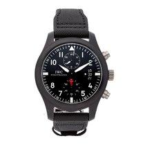 IWC Pilot Chronograph Top Gun Titanium 46mm Black Arabic numerals