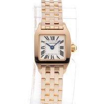 Cartier Santos Demoiselle Rose gold 17mm Silver