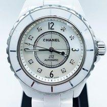 Chanel J12 H2423 INDEX DIAMANT Bon Céramique 38mm Remontage automatique France, Paris