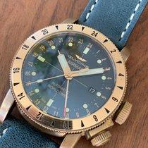 冠星 青铜 自动上弦 蓝色 42mm 二手 Airman