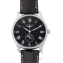 Longines Steel Automatic Black new Master Collection