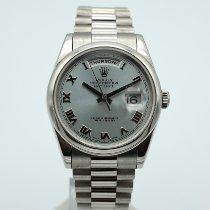 Rolex 118206 Platine 2005 Day-Date 36 36mm occasion