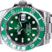 Rolex Submariner Date 116610LV Gut Stahl 40,00mm Automatik