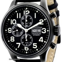 Zeno-Watch Basel OS Pilot 8557TVDD-bk-a1 καινούριο