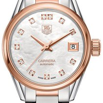 TAG Heuer Carrera Lady Steel Mother of pearl United States of America, New York, Brooklyn
