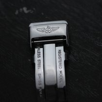 Breitling Stainless Steel Fold Clasp  18 mm