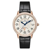 Jaeger-LeCoultre Rendez-vous Night & Day Pink Gold Silver Dial...