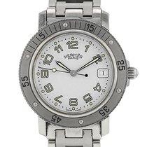 Hermès Stahl 37mm Quarz CL7.710 gebraucht