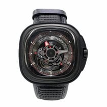 Sevenfriday P3-1 Stål 47,6mm Svart Ingen tall