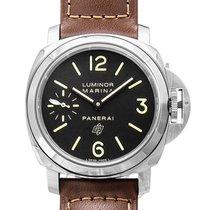 Panerai Luminor Marina neu Handaufzug Uhr mit Original-Box und Original-Papieren PAM01005