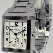 Jaeger-LeCoultre Reverso Squadra Hometime Steel Watch Box/Book...