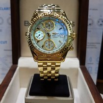 Breitling Chronomat 18kt yellow gold special dial